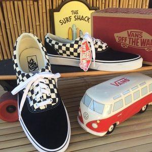 Vans Era Primary Checkerboard Sneakers Size 11